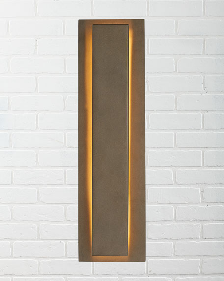 Titus Aged Brass Outdoor Sconce