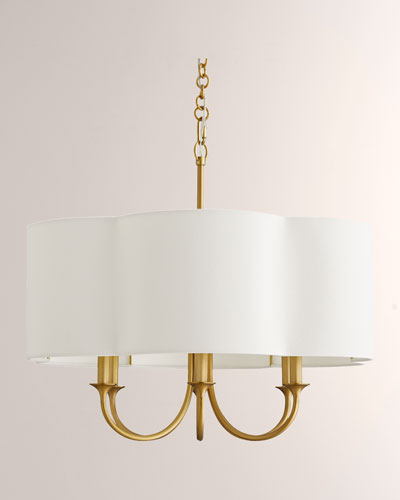 Rittenhouse Small Gold Chandelier