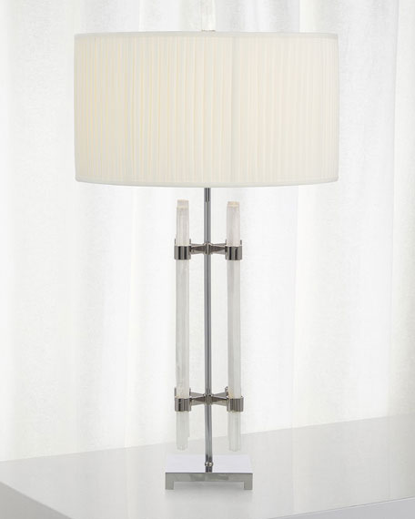 Selenite Tube Table Lamp