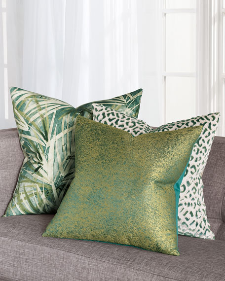 Chevalier Emerald Decorative Pillow