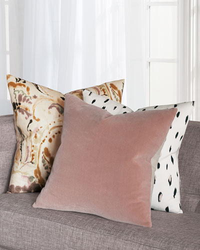 Pondicherry Rose Decorative Pillow