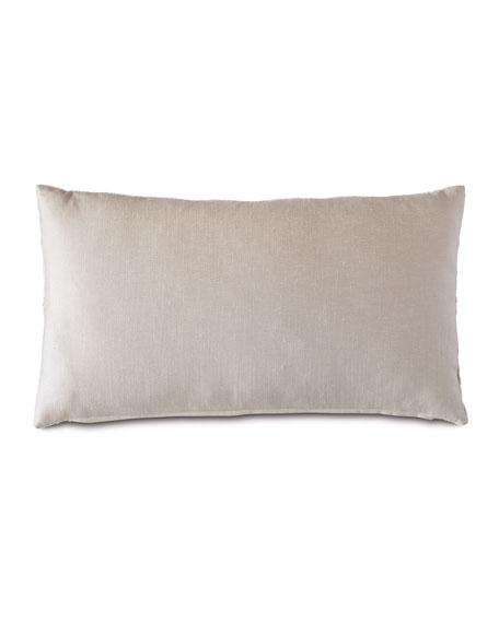 Tesseract Ivory Decorative Pillow