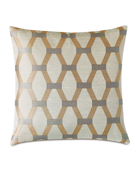 Eastern Accents Paradigm Gold Decorative Pillow