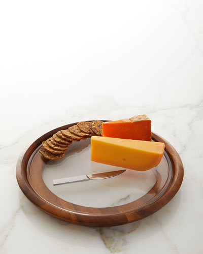 Cooper Cheese Tray with Knife