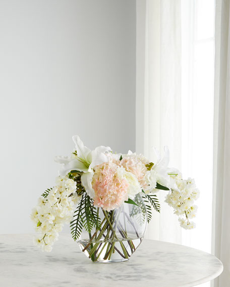 John-Richard Collection Blushing Garden Mix Floral Arrangement