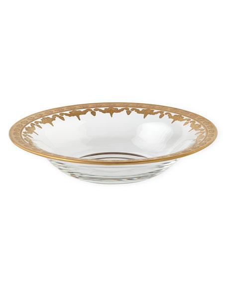 Arte Italica Vetro Gold Soup Bowl