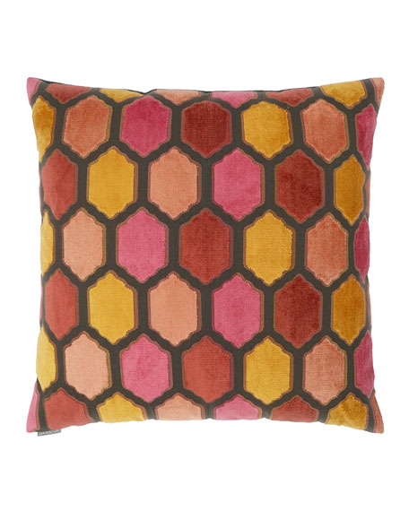 Mallorca Sunset Decorative Pillow