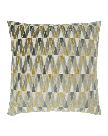 Abrash Mustard Pillow