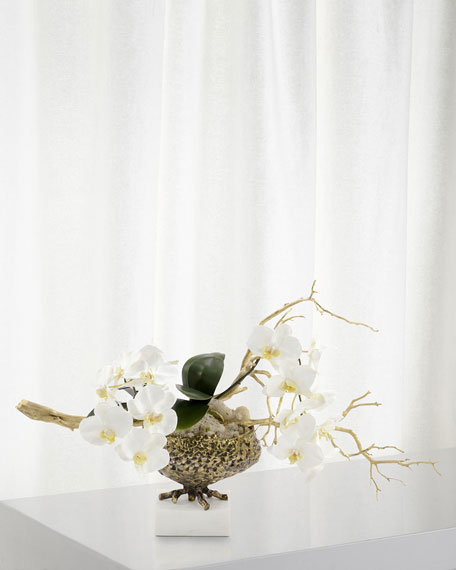 John-Richard Collection Antique Phalaenopsis Arrangement