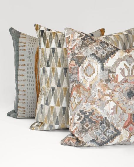 Tracks Decorative Pillow