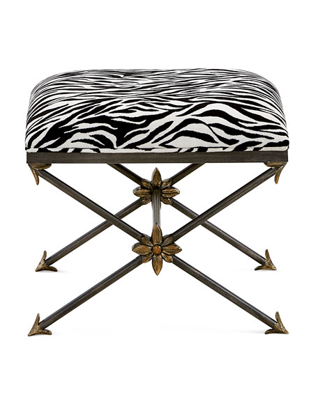 Zebre Bed Bench