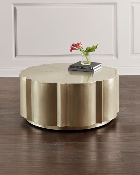 Hooker Furniture German Silver Coffee Table