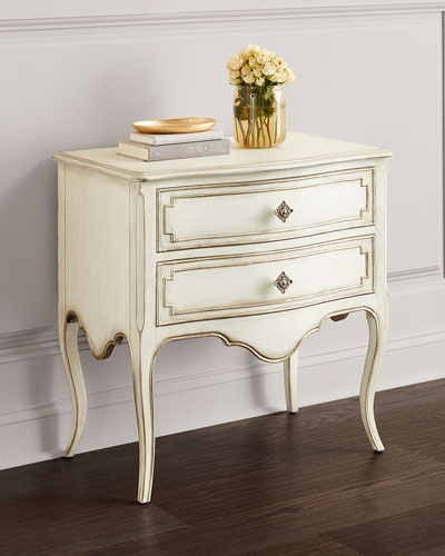 Coco En Blanc Night Stand