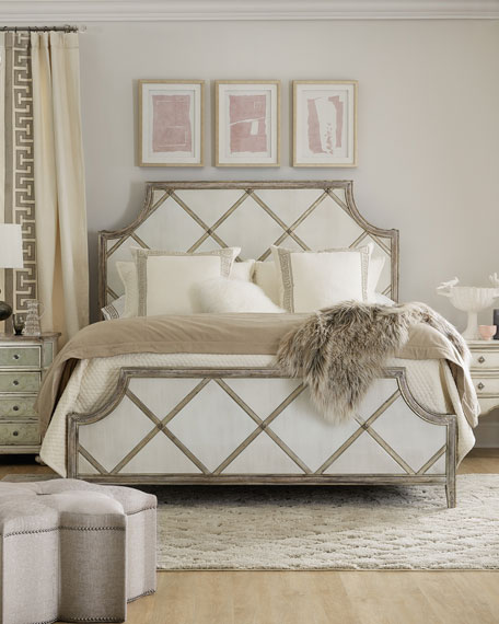 Diamont King Panel Bed