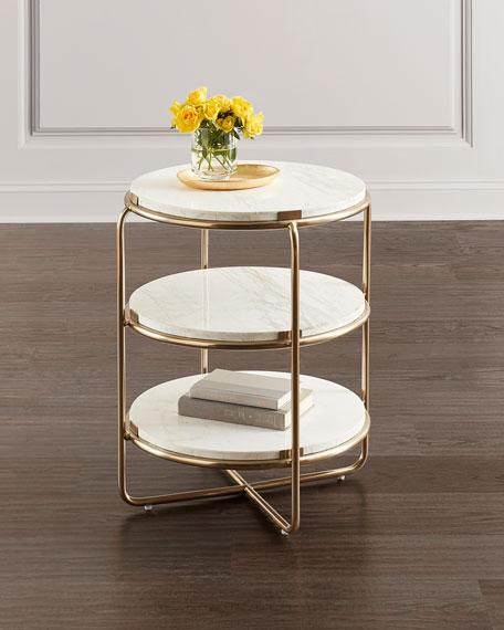 Hooker Furniture Kiera Spot Side Table