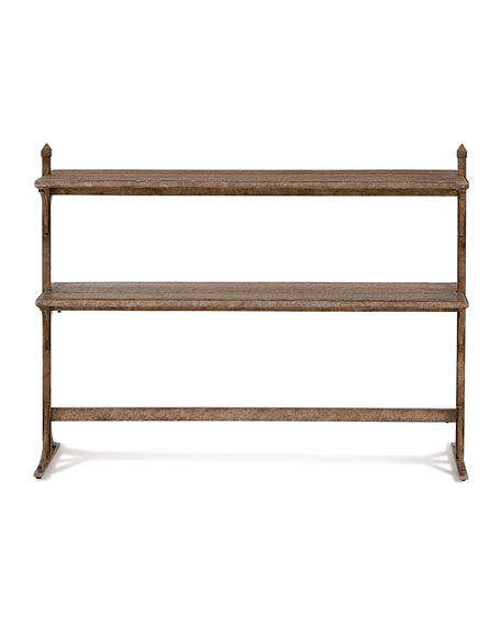 South 77 Metal & Wood Console