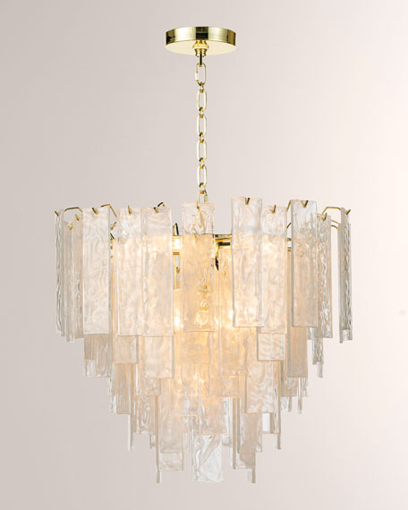 Small Glacier Chandelier
