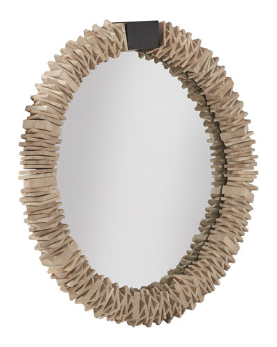 Medium Stacked Ring Mirror