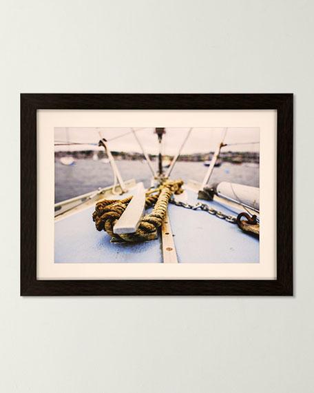 """Sag Harbor Sail II"" Giclee Art"