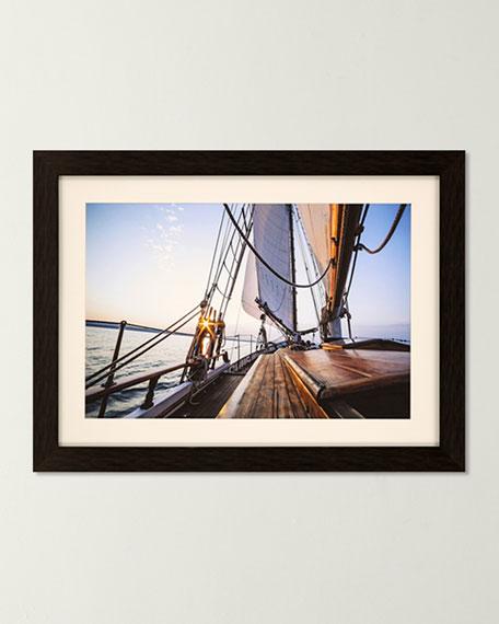 """Sag Harbor Sail VI"" Giclee Art"