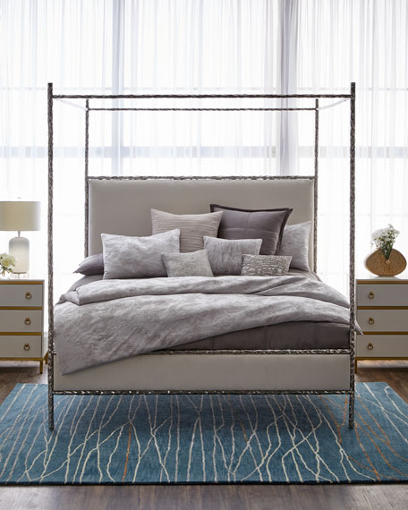 Bernhardt Odette Upholstered Canopy King Bed