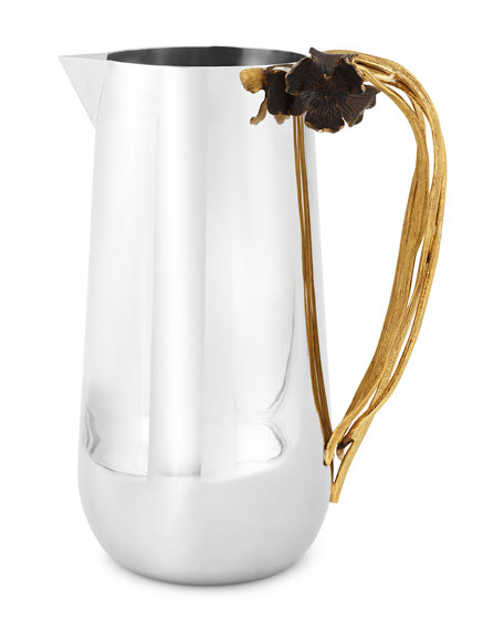Michael Aram Black Iris Pitcher