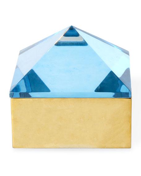 Monte Carlo Medium Stud Box - Blue