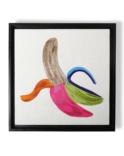 Banana Beaded Wall Art
