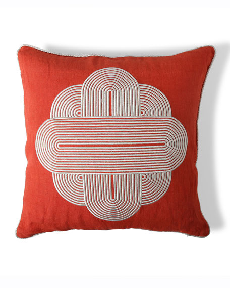 US Pompidou Medallion Pillow