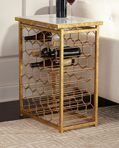 Star Wine Holder Side Table