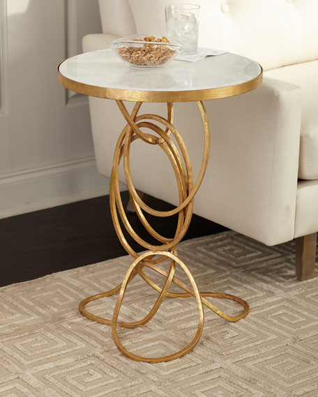 Londyn Swirl Base Side Table