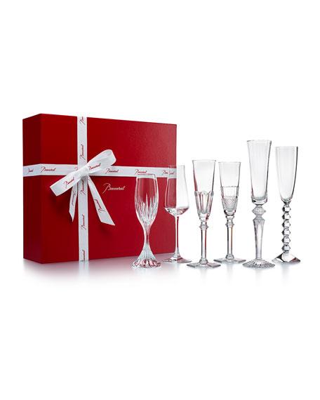 Bubble Champagne Flute Box Set