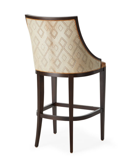 Chatawa Leather Counter Stool