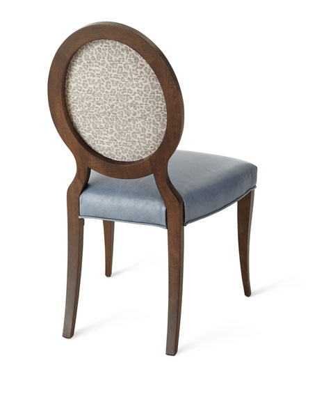 Pearlington Leather Dining Side Chair