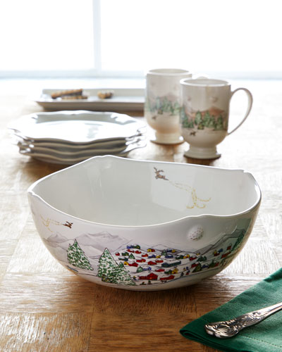Berry & Thread North Pole 10 Serving Bowl