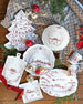 Country Estate Winter Frolic Ruby Sweets Tray