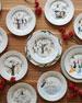 Twelve Days of Christmas Dinner Plate