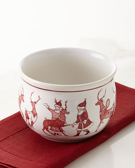 Juliska Country Estate Reindeer Games Comfort Bowl