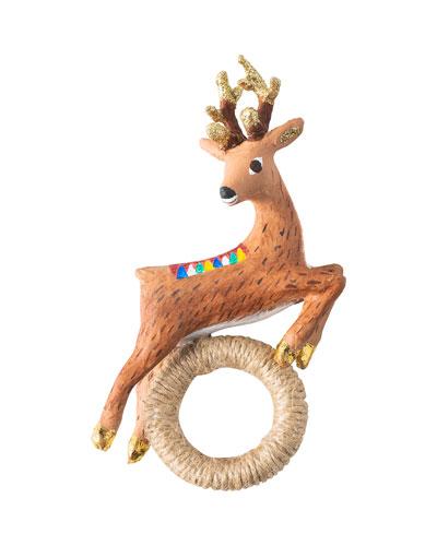 Reindeer Napkin Rings  Set of 4