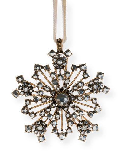 Snowflake Hanging Ornament