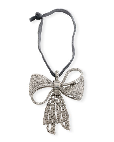 Sparkle Bow Hanging Ornament