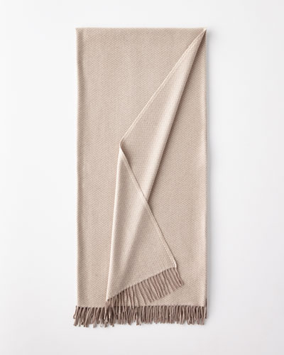 Australia Espiga Beige Throw