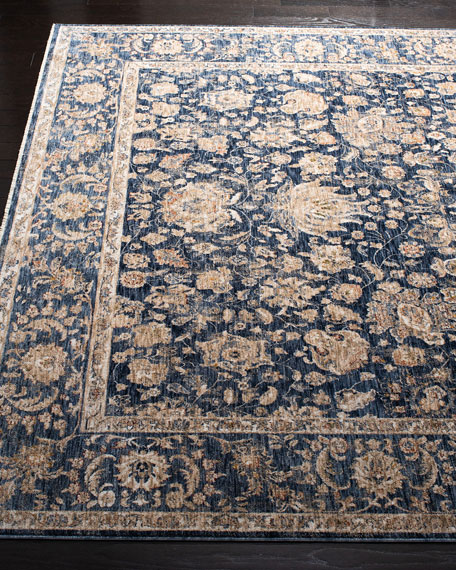 Celia Navy Power-Loomed Rug, 4' x 6'