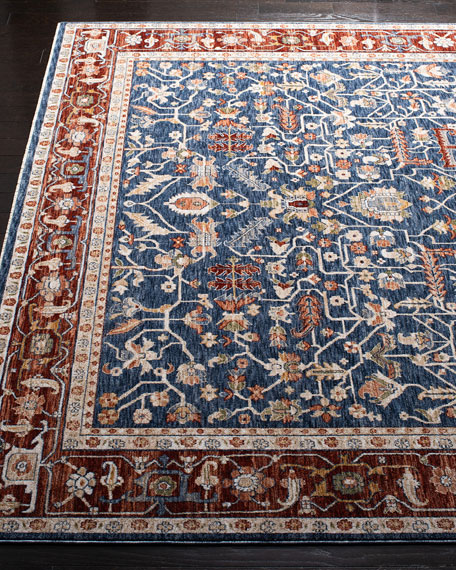 Darcy Power-Loomed Rug, 6' x 9'