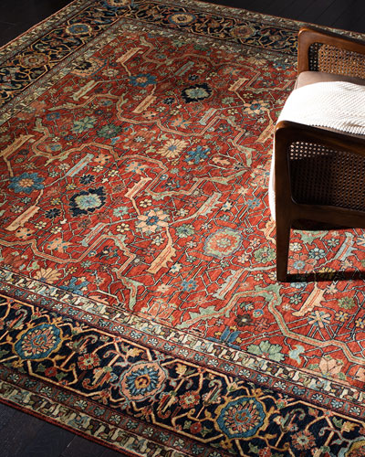 Richmond Hand-Knotted Rug  9' x 12'