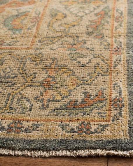 Monserrate Hand-Knotted Rug, 6' x 9'