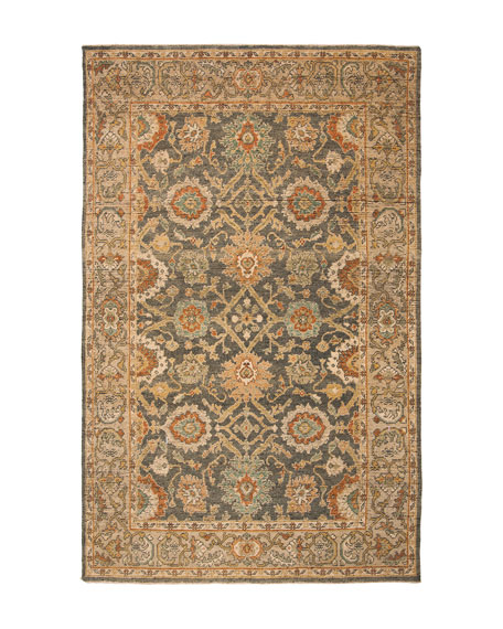 Monserrate Hand-Knotted Rug, 9' x 12'