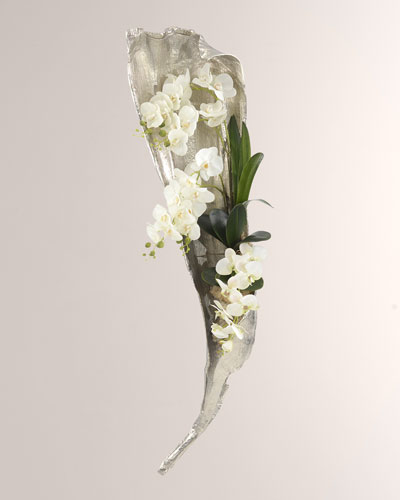 Falling Orchids Wall Decor