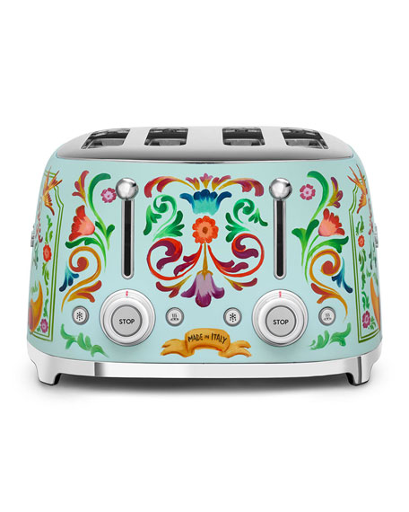 Smeg Dolce Gabbana x SMEG 4-Slot Toaster