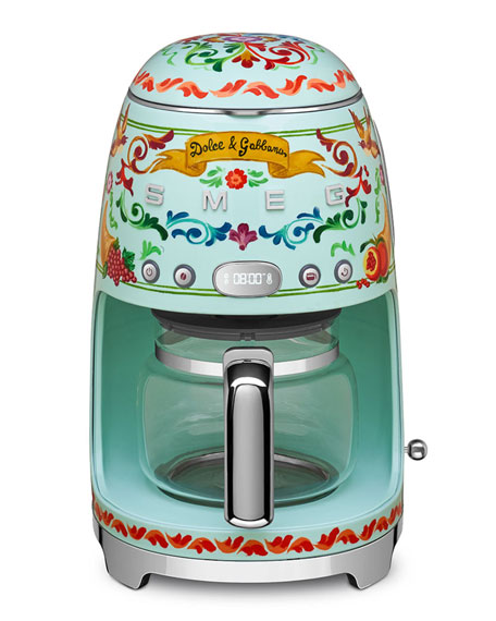 Dolce Gabbana x SMEG Drip Coffee Machine